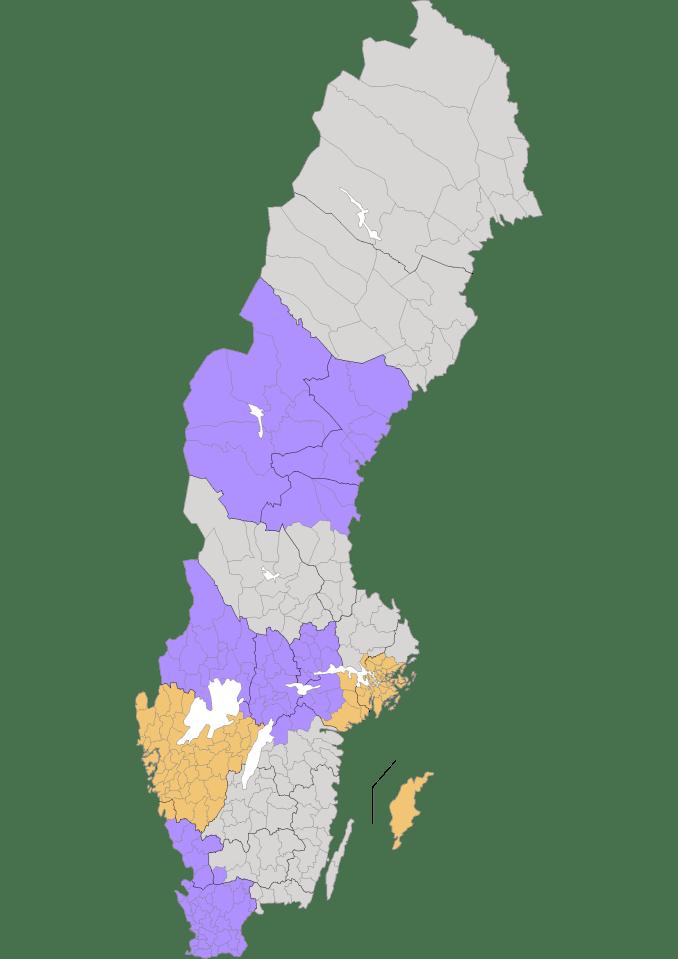 SCK´s Lokala Aktivitetsområden