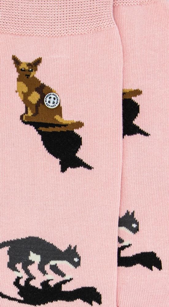 Alfredo Gonzales Sok Cats pink