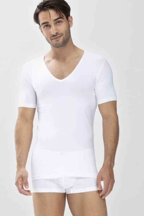 Mey Dry Cotton Functional T-shirt Slim-Fit V-hals