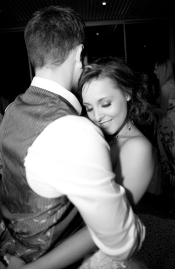 First dance smile