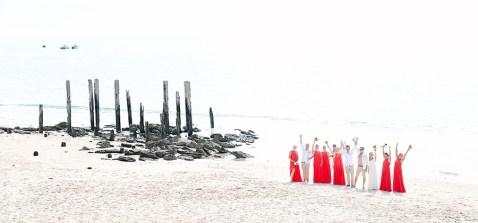Bridal Party at Port Willunga