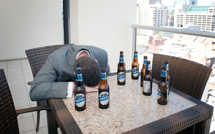 Drinking a bit too much