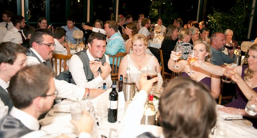 Wedding at Ayers house