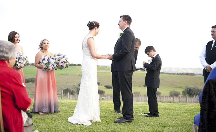 Coriole Vineyards Wedding Ceremony