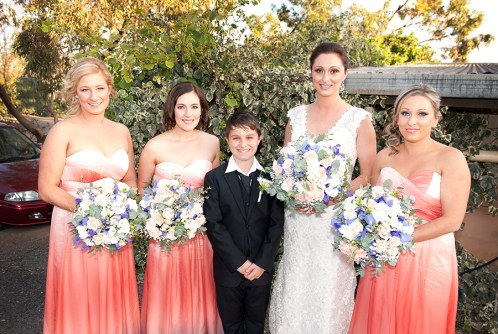 Bridal Party at Coriole Vineyards