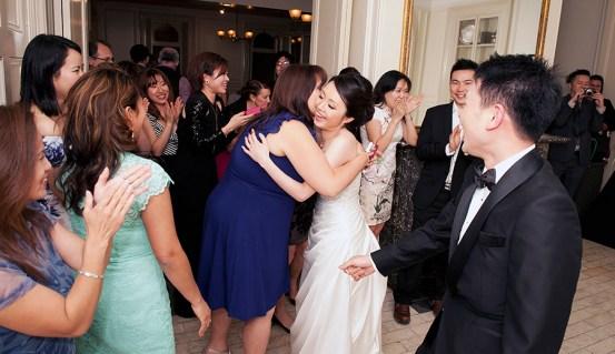 Hugging Guests