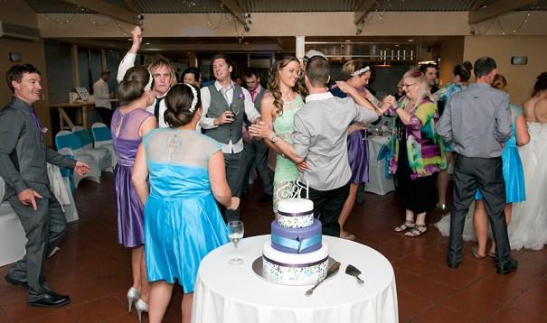 Dancing at Sunnybrae Wedding