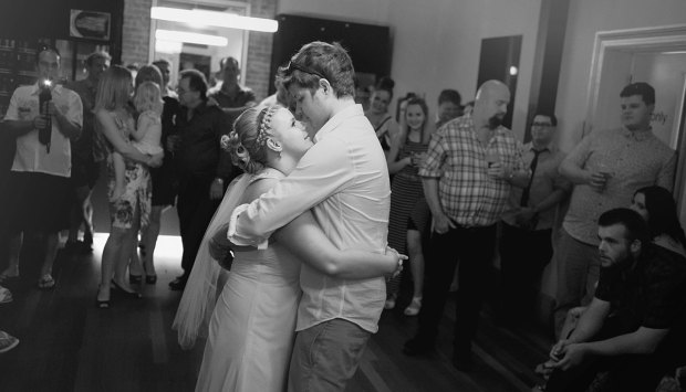 First dance at Grange Hotel