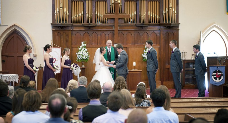Gawler Uniting Church Wedding