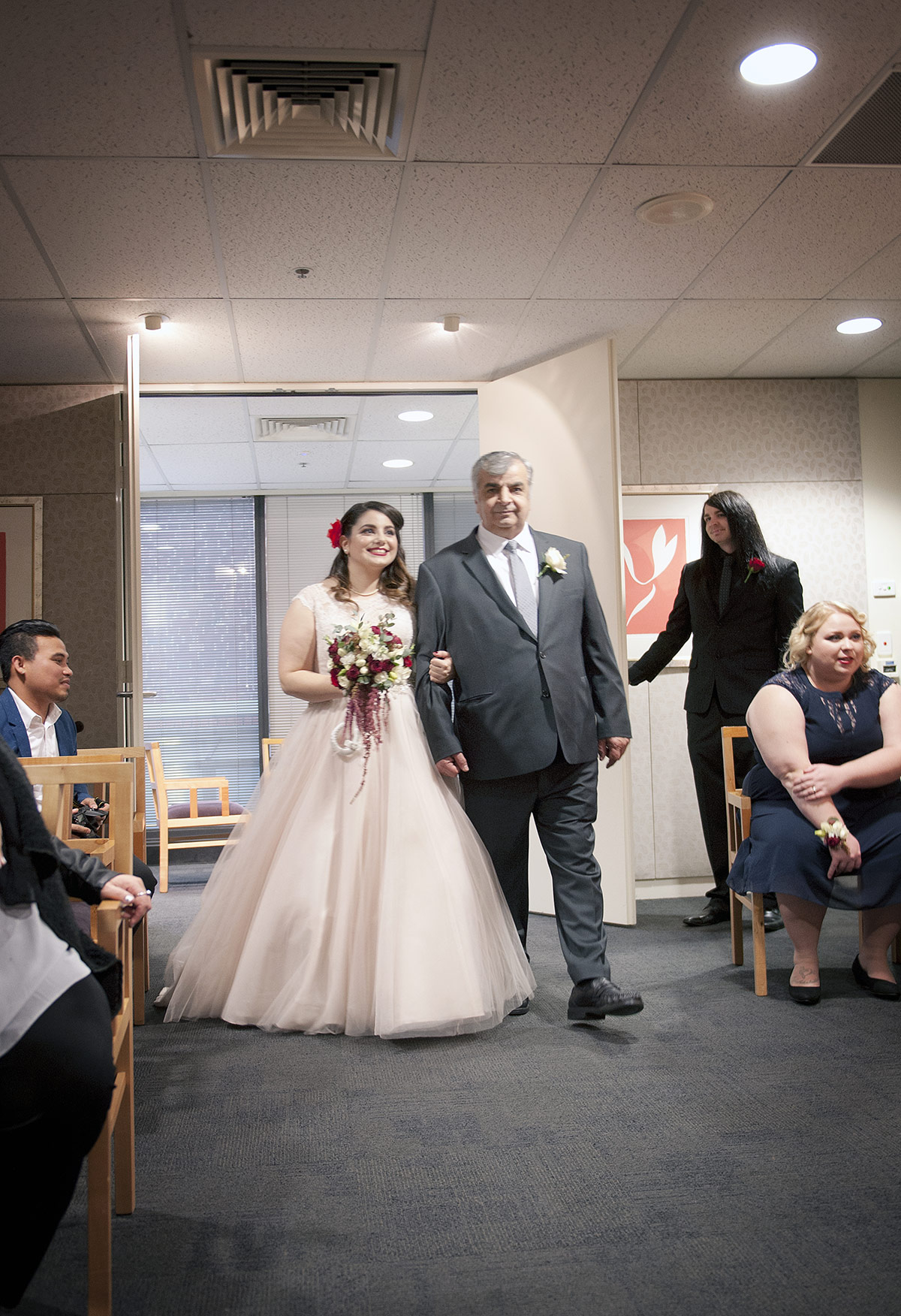 Marriages registration office wedding