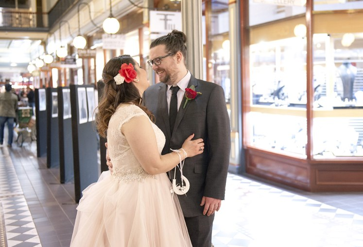 Adelaide Arcade Wedding by Svenstudios