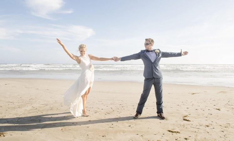 Middleton beach wedding
