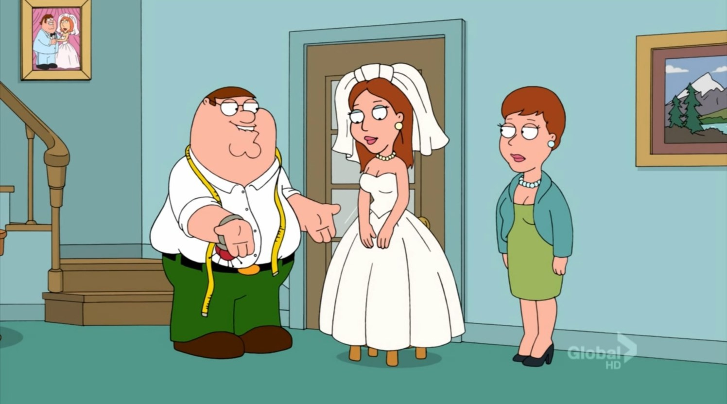 Family Guy Wedding Dress