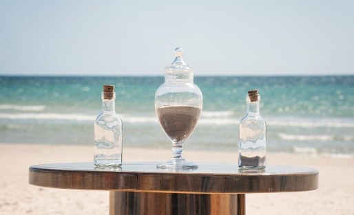 mixing of sand ceremony