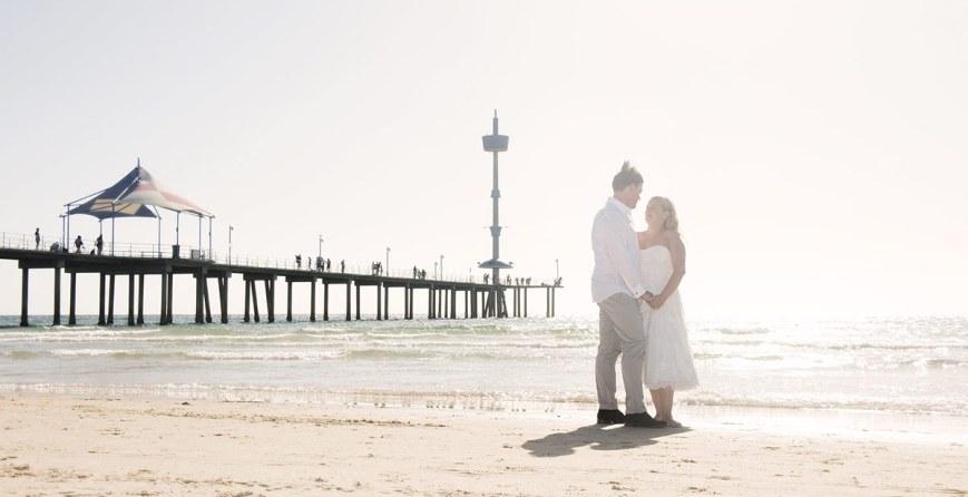 Brighton Beach wedding