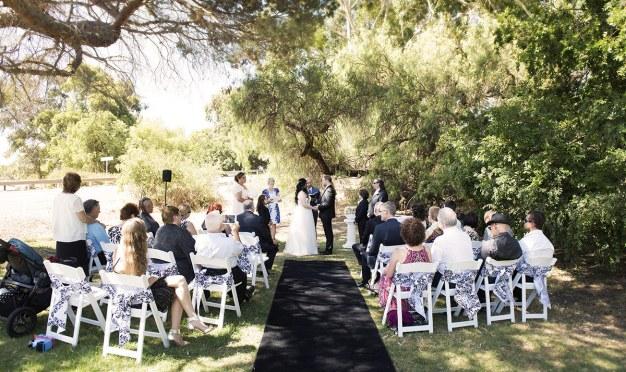 Wedding congregation