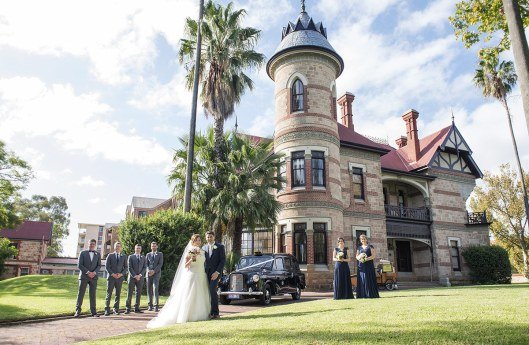 Carclew house wedding