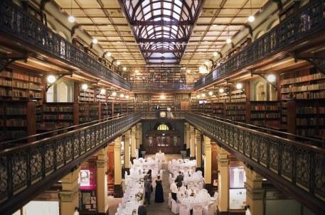 Mortlock library wedding