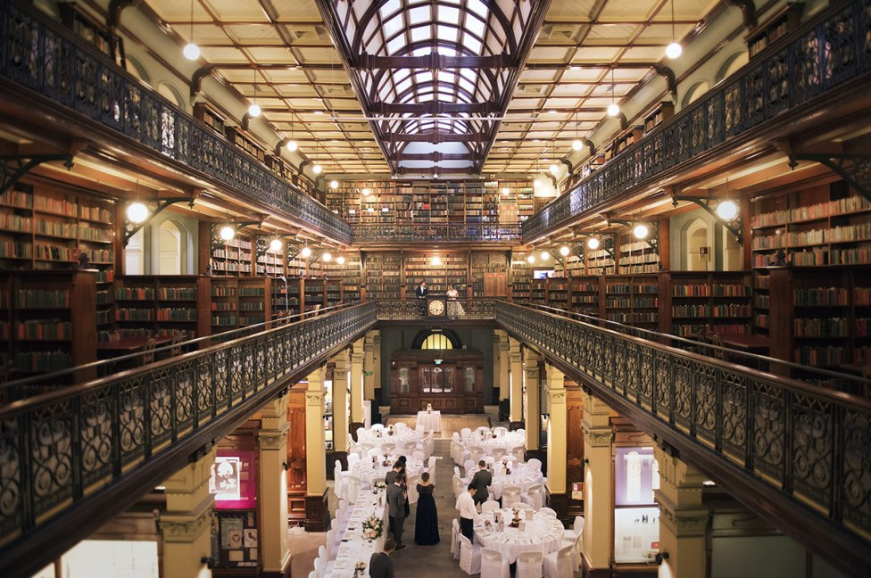 Mortlock library wedding
