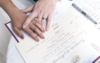 Wedding register
