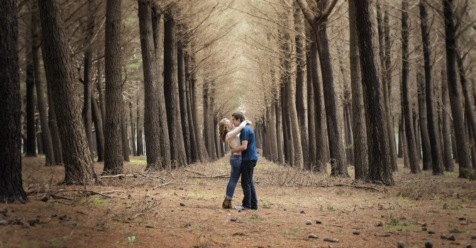 Love in a forest