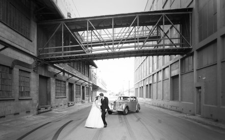 Port Adelaide wool sheds wedding