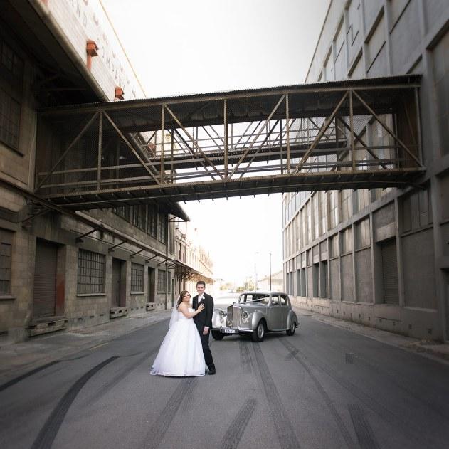 Port Adelaide wool sheds wedding