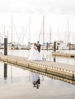 Royal South Australian Yacht Club wedding