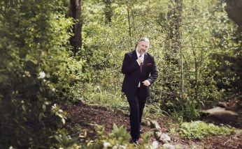 Groom going for a walk