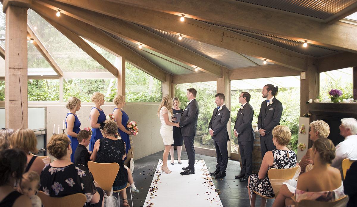 Bridgewater Mill wedding ceremony