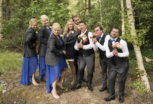Genderbender wedding shot