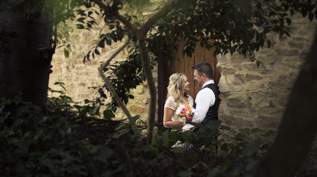 Through the foliage at Bridgewater Mill