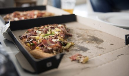 Wedding pizza