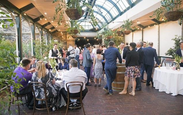 Ayer's House wedding reception