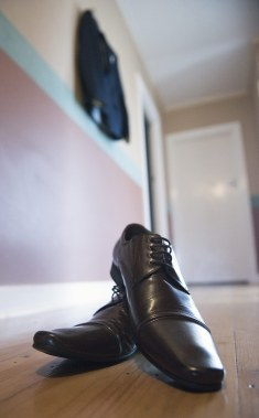 Groom's shoes