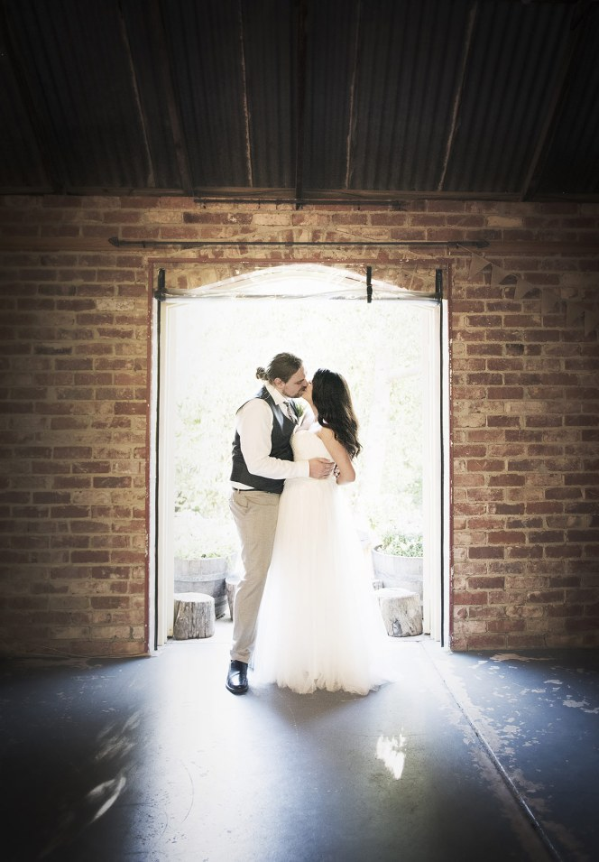 Oliver's Chaff Shed wedding