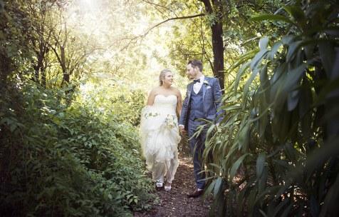 Walking through the bush