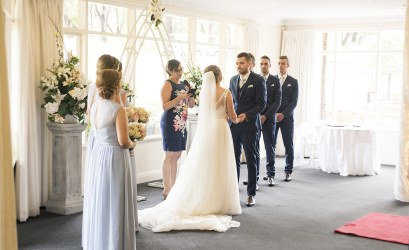 Wedding ceremony at the Belair National Park