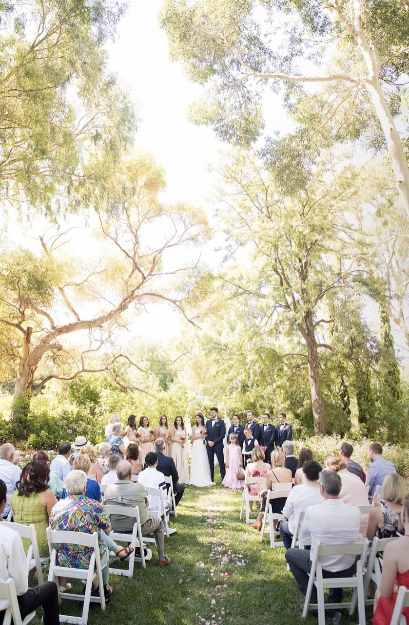 Lyndoch Hill Wedding Ceremony