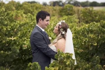 Holding one another in the vineyards