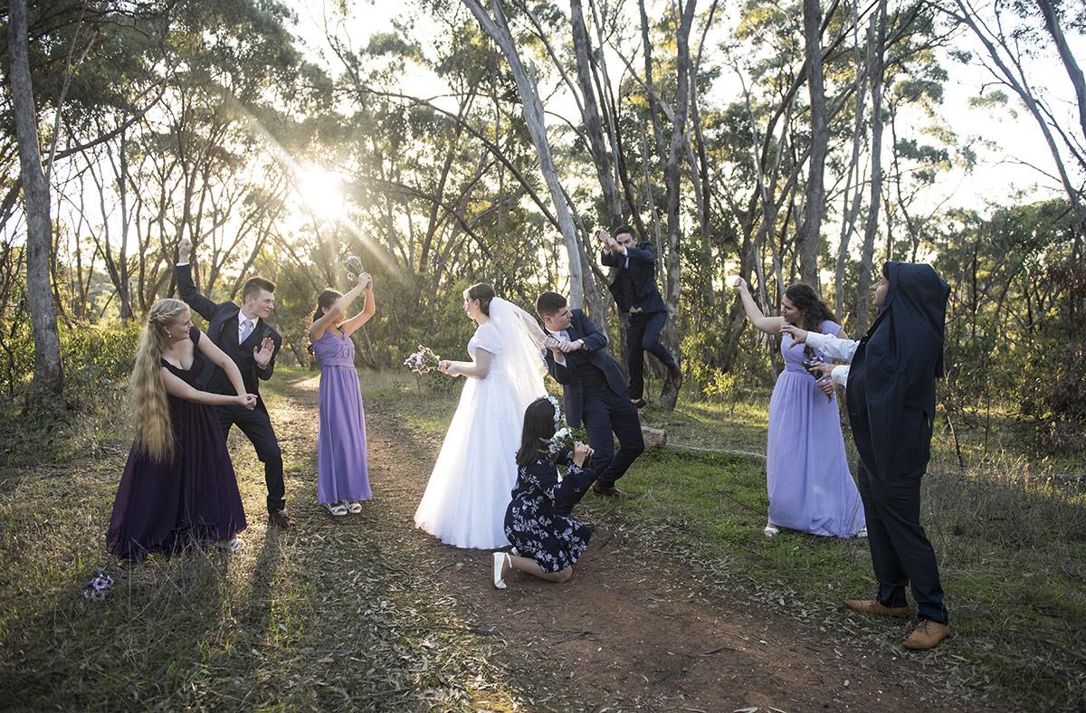 Star Wars Wedding Photo original photo