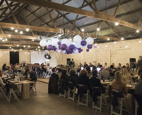 Uraidla Show Hall Wedding reception