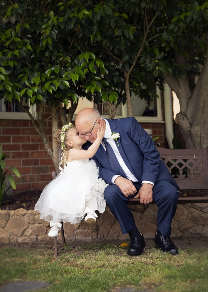 Kisses for Grandad