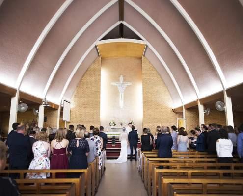 Christ the King Parish Church Wedding