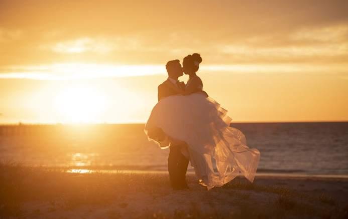 Semaphore Beach Sunset