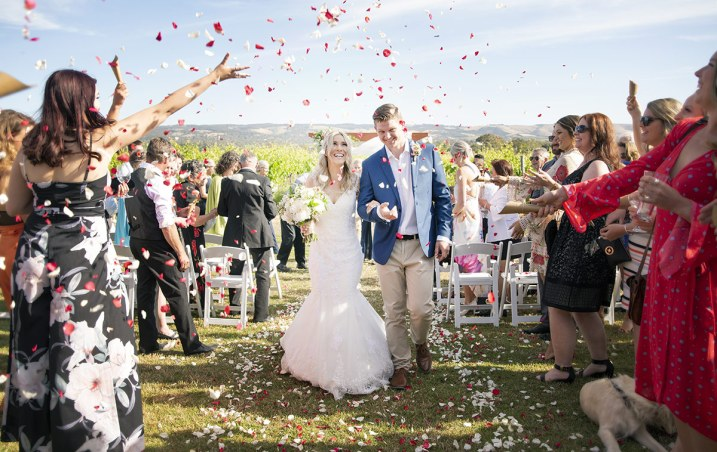 Bridal exit