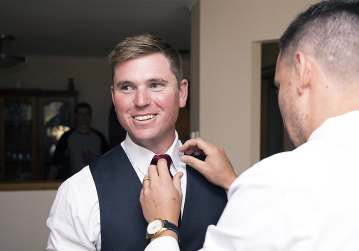 Help with the tie