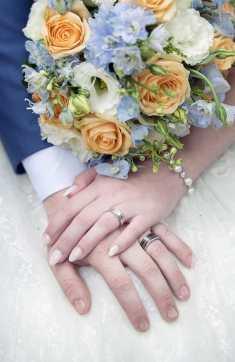Closeup of rings