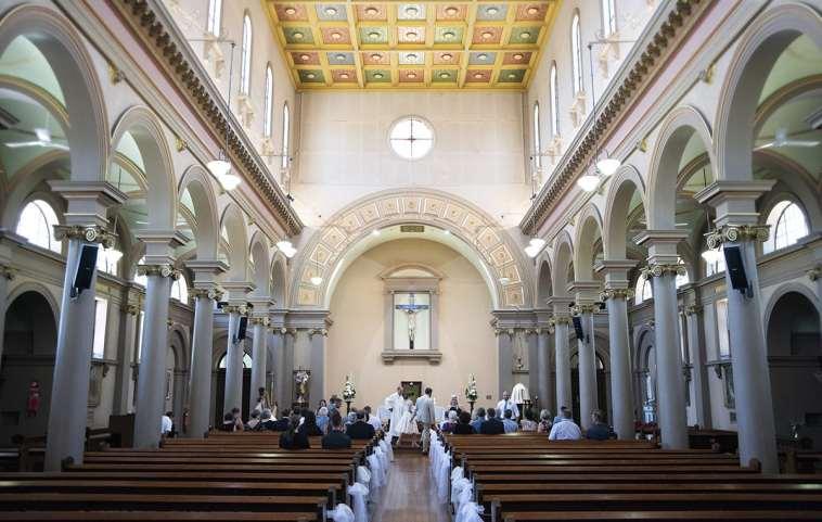 Inside St Patricks Church Adelaide