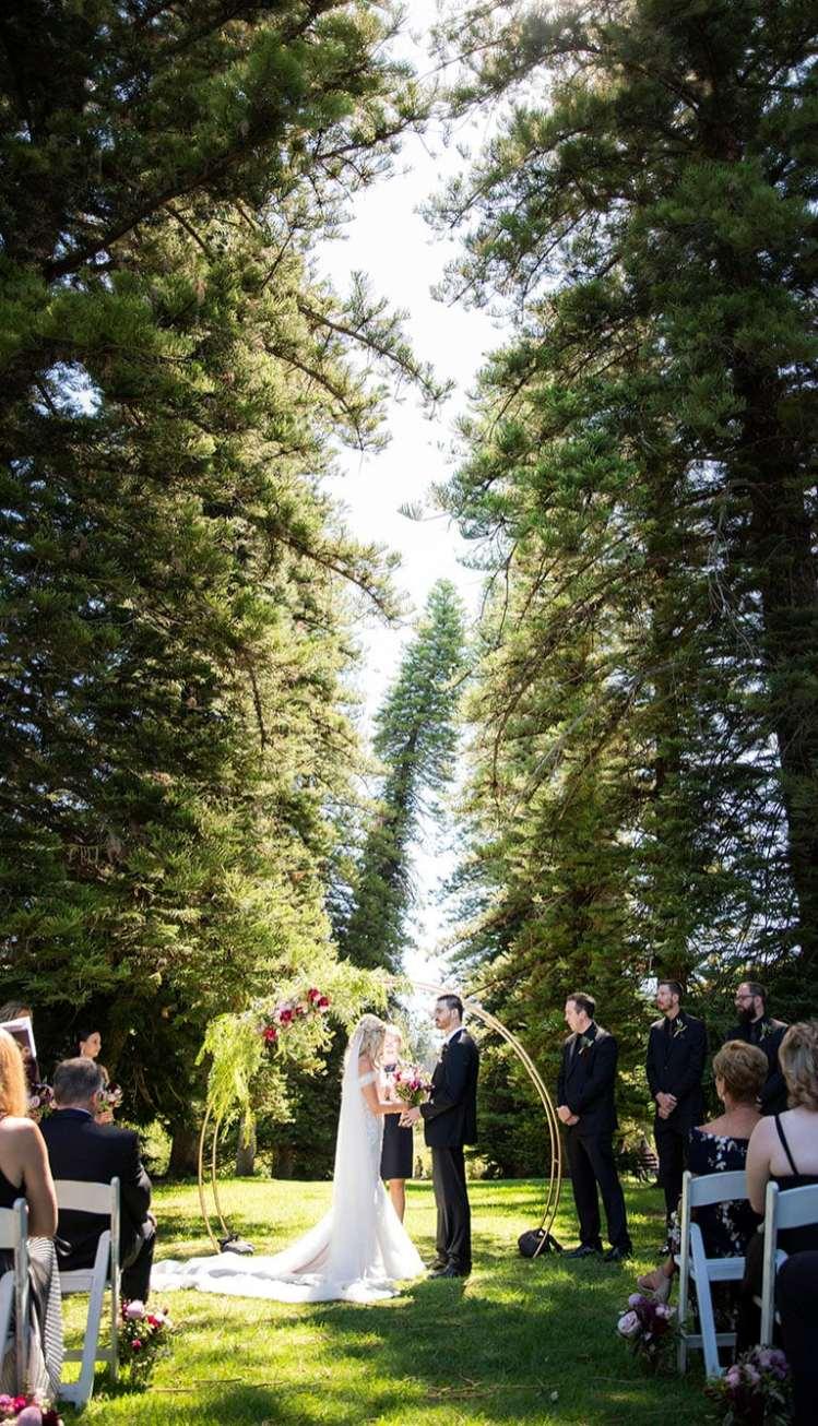 Adelaide Botanic Garden Wedding Ceremony